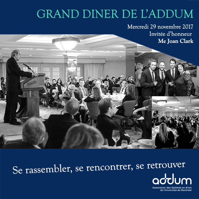 Grand Diner d'automne de l'ADDUM